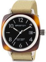Briston Classic HMS Date - Black Semi Glossy Dial