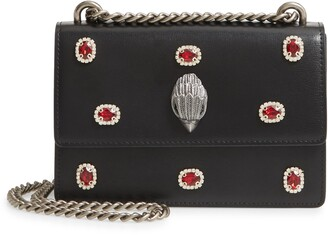 Kurt Geiger Small Shoreditch Embellished Leather Crossbody Bag