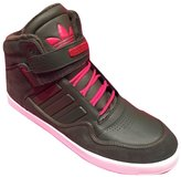 adidas Men's A.R. 2.0 /Red/White Leather High Top Basketball Shoes (10.5)
