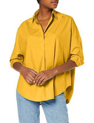 French Connection Women's Rhodes Shirt, (Size:-L-)