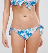 Peek & Beau Vintage Floral Tie Side Bikini Bottom