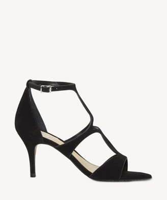 Vince Camuto Women's Payto Strappy Sandals Black Size 5 Leather From Sole Society