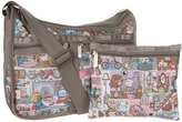 Le Sport Sac Deluxe Everday Bag (Home Sweet Home) - Bags and Luggage
