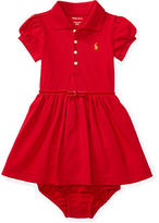 Ralph Lauren Stretch Polo Dress & Bloomer