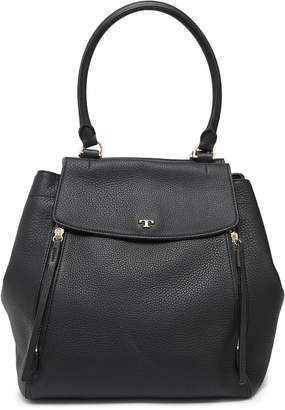 Tory Burch Pebbled-leather Tote