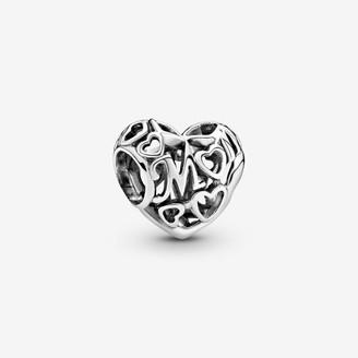 Pandora Openwork Mum Heart Charm