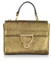 Coccinelle Women's Gold Leather Handbag.