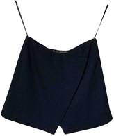 Donna Karan Blue Wool Top for Women