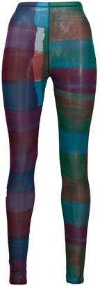 Issey Miyake Pre-Owned '2000s Printed Leggings
