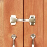 Baba Mate Adjustable Child Safety Locks(4 Pack) - The Ultimate Childproofing Latches for Cabinets, Refrigerator, Drawers, Microwave, Oven, Toilet Seat - Gray