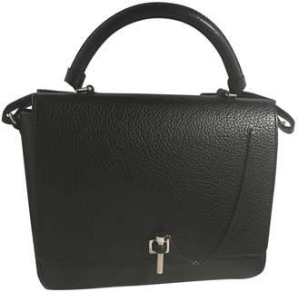 Carven \N Black Leather Handbags