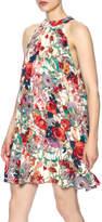 Entro Floral Sleeveless Dress