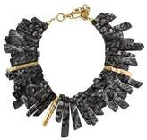 Ashley Pittman Horn Fimbo Collar Necklace