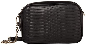 Furla Swing Mini Crossbody (Nero) Handbags