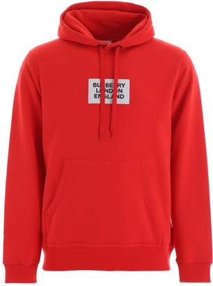 Burberry Farrows Hoodie With Logo