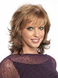 Finders Wigs 14 Inch Women Wig Blonde Wavy Wigs Medium Length Heat Resistant For Party