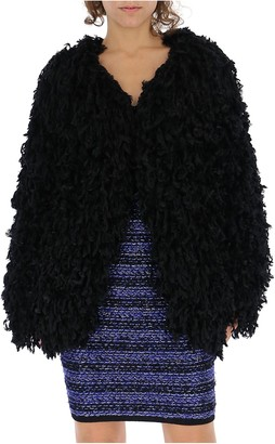 Balmain Fringed Jacket