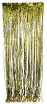 Tytroy Shimmer Door Curtains Fringe Metallic Foil Tinsel Various Colors Packs 3'x8' (3, Gold)