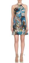 1 STATE 1.State Floral Print Halter Dress
