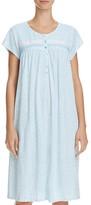 Eileen West Knit Short Sleeve Short Gown
