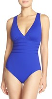 LaBlanca Women's La Blanca Cross Back One-Piece Swimsuit