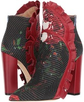 Racine Carree - Vivian Flare Ruffle Ankle Boot Women's Shoes