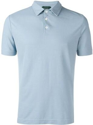 Zanone short sleeve polo shirt