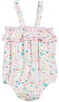 Angel Dear Fruit Ruffle Sun Suit Romper, Size 3-24 Months