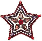 INC International Concepts Anna Sui x Gold-Tone Crystal and Stone Star Pin, Created for Macy's