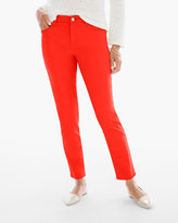 Chico's Sateen Girlfriend Ankle Jeans