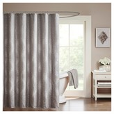 "Nobrand No Brand Garner Jacquard Shower Curtain - Grey (72""x72"")"