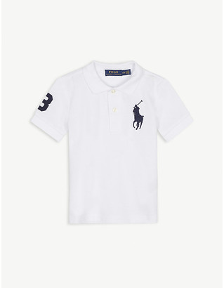 Ralph Lauren Embroidered logo cotton polo shirt 2-7 years