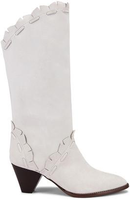 Isabel Marant Leesta Boot in White | FWRD
