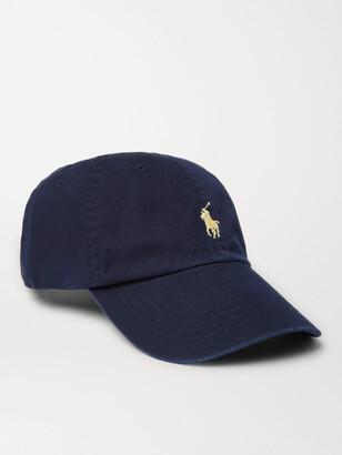 Polo Ralph Lauren Logo-Embroidered Cotton-Twill Baseball Cap
