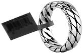 David Yurman Sterling Silver Curb Chain Ring