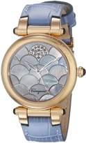 Salvatore Ferragamo Women's FI2120014 IDILLIO Analog Display Swiss Quartz Watch