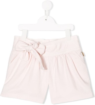 Little Marc Jacobs Bow Fastened Pleated Shorts