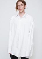 Raf Simons White Carry Over Big Shirt
