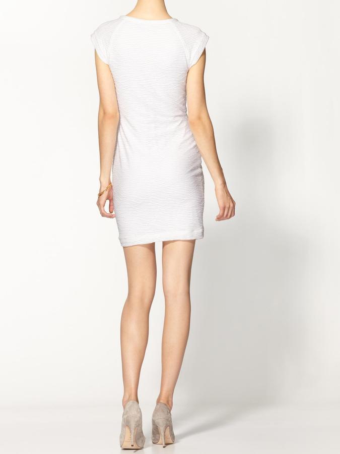 Cut25 Cut 25 Cap Sleeve Jersey Dress