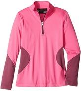 Spyder Sophie T-Neck Top Girl's Long Sleeve Pullover