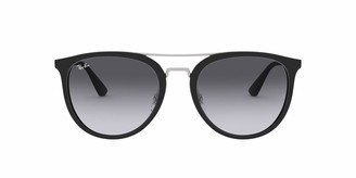 Ray-Ban Men's Plastic Man Sunglass Square