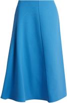 Marni Wool-crepe high-waisted skirt