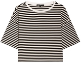 Tibi Ren Striped Top