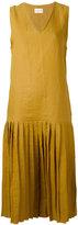 Simon Miller Brea midi dress - women - Linen/Flax - 1