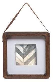Foreside Home & Garden 4X4 Square Hanging Photo Frame - Foreside Home and Garden