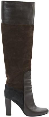 Michel Vivien Brown Suede Boots