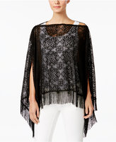 INC International Concepts Lace Two-Way Poncho, Created for Macy's