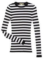 Michael Kors Striped Long-sleeve Crewneck