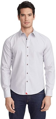 UNTUCKit Wrinkle-Free Rubican Shirt (Grey) Men's Clothing