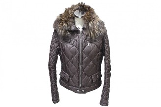 Moncler \N Brown Polyester Leather jackets